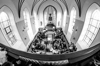Weitwinkel in der Kirche