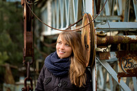 Portrait-Shooting in alter Industrie-Location
