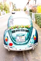 Das Hochzeitsauto!