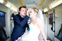 After-Wedding-Shooting im Rettungswagen!