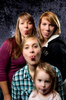 Portrait - 3 Schwestern und der Nachwuchs