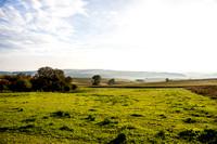 Blick von Hundertmorgen (Reinheim/Überau) über die Landschaft